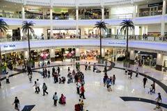 Muchedumbre de las compras Imagen de archivo libre de regalías