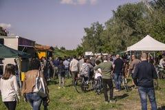 Muchedumbre durante el festival fotos de archivo libres de regalías
