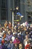 Muchedumbre en el desfile de Macy del día de la acción de gracias Fotografía de archivo libre de regalías