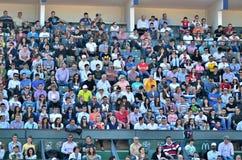 Muchedumbre en el trofeo de RFA Tiriac Nastase 2013(8) Imagenes de archivo