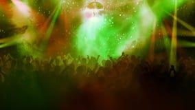 Muchedumbre en un concierto stock de ilustración
