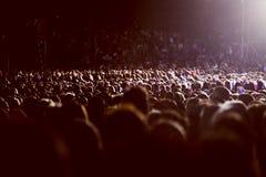 Muchedumbre grande de gente Fotografía de archivo