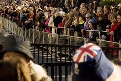 Muchedumbres del día de la conmemoración, 2012 Imagen de archivo