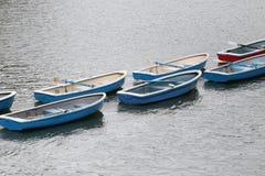 Mucho barco en el río Fotografía de archivo libre de regalías