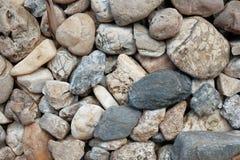 Mucho clase de piedras Fotos de archivo libres de regalías