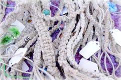 Mucho cuerda gris Imagen de archivo libre de regalías
