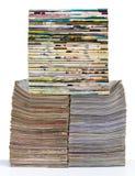 Mucho diario de la espina dorsal Fotos de archivo
