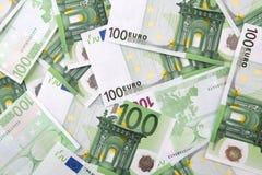 Mucho euro Fotografía de archivo