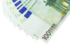 Mucho euro Fotos de archivo