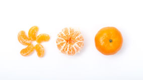 Mucho fondo anaranjado del blanco de la forma Fotos de archivo libres de regalías