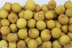 Mucho fruta fresca del Longan Fotografía de archivo