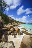 Mucho granito oscila en una costa en las Seychelles 36 Imagen de archivo libre de regalías
