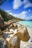 Mucho granito oscila en una costa en las Seychelles 39 Fotografía de archivo