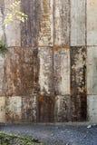 Mucho hoja de metal aherrumbrada vieja Superficie oxidada causada por la oxidación i imágenes de archivo libres de regalías