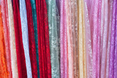 Mucho lacework multicolor Imagenes de archivo