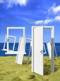 Mucho puerta en el océano fotografía de archivo libre de regalías