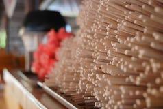 Mucho templo del palillo de ídolo chino Fotos de archivo