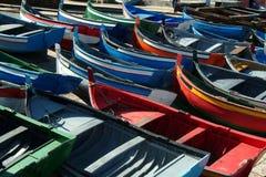 Muchos barcos Imágenes de archivo libres de regalías