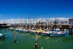 Muchos barcos fotografía de archivo libre de regalías