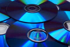 Muchos Cdes Imágenes de archivo libres de regalías