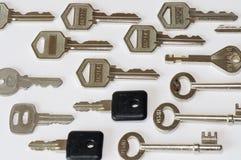 Muchos claves Fotografía de archivo