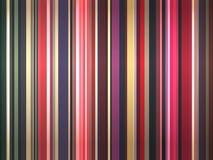 Muchos colorean rayas Foto de archivo