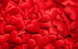 Muchos corazones rojos fotos de archivo libres de regalías