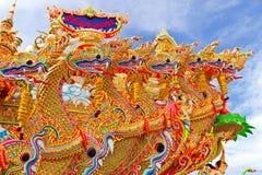 Muchos dirigen el dragón Fotografía de archivo libre de regalías