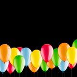 Muchos globos coloridos Fotografía de archivo libre de regalías