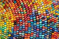 Muchos huevos de Pascua. Fotos de archivo libres de regalías