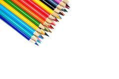 Muchos lápices coloridos Fotografía de archivo libre de regalías