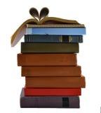 Muchos libros viejos Foto de archivo libre de regalías