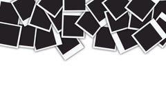 Muchos marcos inmediatos de la foto aislados en blanco Imagen de archivo