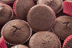 Muchos molletes del chocolate Imágenes de archivo libres de regalías