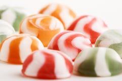Muchos no dulces del chocolate Foto de archivo libre de regalías