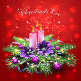 Muchos ornamentos y regalos del día de fiesta Imágenes de archivo libres de regalías