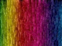 Muchos pequeños rectángulos Imagen de archivo