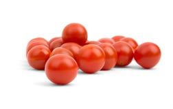 Muchos pequeños tomates de cereza Fotografía de archivo libre de regalías