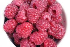 Muchos raspberrys Imagen de archivo libre de regalías