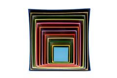 Muchos rectángulos coloreados junto Foto de archivo libre de regalías