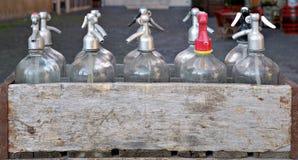 Muchos sifones de la soda Imagenes de archivo