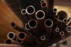 Muchos tubos Foto de archivo libre de regalías