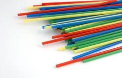 Muchos tubos de color Imagenes de archivo