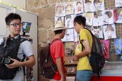 Muchos turistas Imagenes de archivo