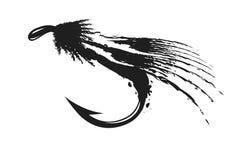 muchy połowów ilustracja wektor