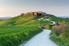Mucigliani village - Tuscany Stock Photos