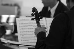Mucis classici di un concerto Fotografie Stock Libere da Diritti