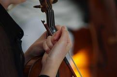 Mucis classici di un concerto Fotografia Stock
