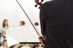 Mucis classici di un concerto Immagine Stock Libera da Diritti