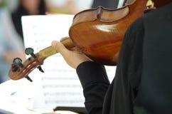 Mucis classiques d'un concert Image libre de droits